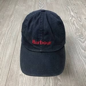 Barbour Navy Baseball Cap Hat One Size